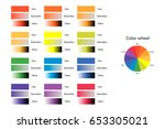 vector illustration of color