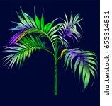 palm | Shutterstock .eps vector #653314831