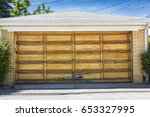 traditional two car wooden old...   Shutterstock . vector #653327995