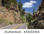 independence pass  aspen ... | Shutterstock . vector #653332465