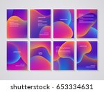 brochure flyer layouts with... | Shutterstock .eps vector #653334631