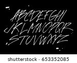 graphic font for your design....   Shutterstock .eps vector #653352085