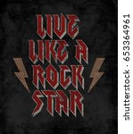 slogan graphic for t shirt   Shutterstock . vector #653364961