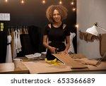 a young fashion designer