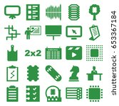 board icons set. set of 25... | Shutterstock .eps vector #653367184