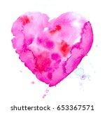 colorful abstract watercolor...   Shutterstock . vector #653367571