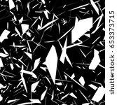 harsh rough texture. geometric...   Shutterstock .eps vector #653373715