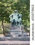 johann wolfgang von goethe... | Shutterstock . vector #653375815