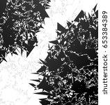 distressed design element.... | Shutterstock .eps vector #653384389