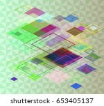 jewels design background | Shutterstock .eps vector #653405137