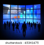 business  silhouette | Shutterstock . vector #65341675