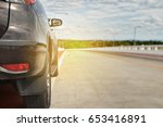 car on the road   Shutterstock . vector #653416891