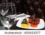 indian food | Shutterstock . vector #653423377