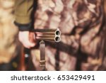 concept of hunting  a group of... | Shutterstock . vector #653429491