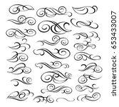 design elements.vector... | Shutterstock .eps vector #653433007
