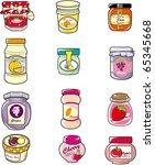 cartoon jam | Shutterstock .eps vector #65345668