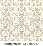 japanese pattern sashiko is a... | Shutterstock .eps vector #653480947