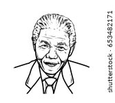 Nelson Mandela Hand Drawing...