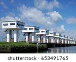 dam | Shutterstock . vector #653491765