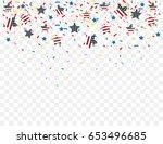 vector illustration of the usa... | Shutterstock .eps vector #653496685
