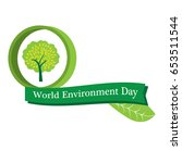 world environment day   Shutterstock .eps vector #653511544