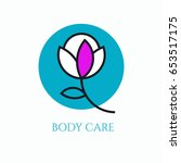 logo body care for cosmetic... | Shutterstock .eps vector #653517175