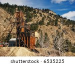 old gold mine in colorado | Shutterstock . vector #6535225