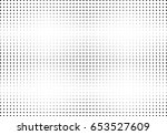 abstract halftone dotted... | Shutterstock .eps vector #653527609