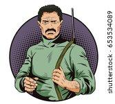 stock illustration. people in...   Shutterstock .eps vector #653534089
