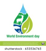 world environment day | Shutterstock .eps vector #653536765