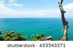 sea sky | Shutterstock . vector #653543371