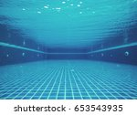 Underwater In Swimming Pool