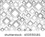 abstract geometric on the white ... | Shutterstock .eps vector #653550181