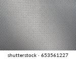 dot pattern of metal mesh... | Shutterstock . vector #653561227