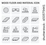 Wood Floor And Material Vector...