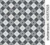 vector seamless pattern.... | Shutterstock .eps vector #653577025