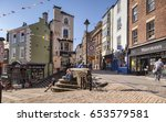 25 may 2017  durham city ... | Shutterstock . vector #653579581