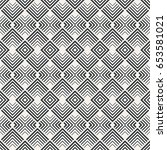 vector seamless pattern.... | Shutterstock .eps vector #653581021