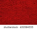 Red Brick Wall   Irregular...