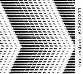 abstract halftone pattern.... | Shutterstock .eps vector #653630311
