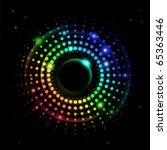 Abstract Rainbow Ray  2 Of...