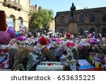 manchester  uk. may 26th  2017. ...   Shutterstock . vector #653635225