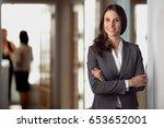 successful confident portrait...   Shutterstock . vector #653652001