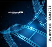 film strip vector background | Shutterstock .eps vector #65365735