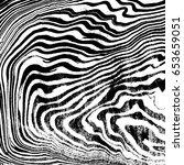 vector black monochrome water... | Shutterstock .eps vector #653659051