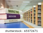 Marketing Books In Library