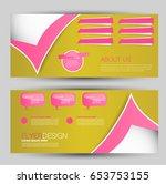 flyer banner or web header... | Shutterstock .eps vector #653753155