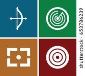 target icons set. set of 4...