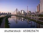 sao paulo brazil south america...   Shutterstock . vector #653825674