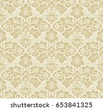 seamless floral pattern in the... | Shutterstock . vector #653841325